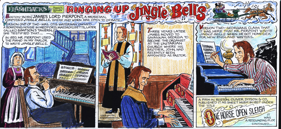 james pierpont writes jingle bells